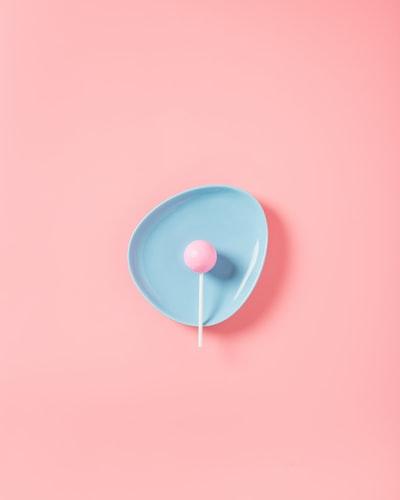 a calm pink
