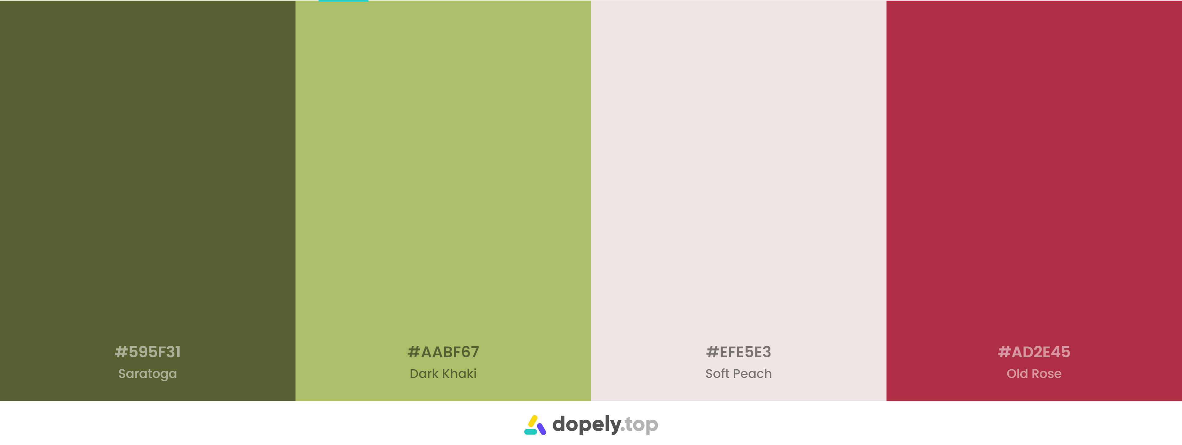 Green And Red Color Palette Inspirations with Names & hex Codes
