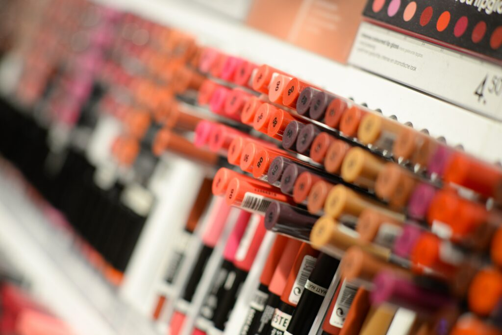 photo of lipstick colors for makeup