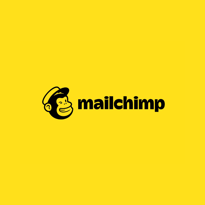 Yellow and black in mailchimp logo