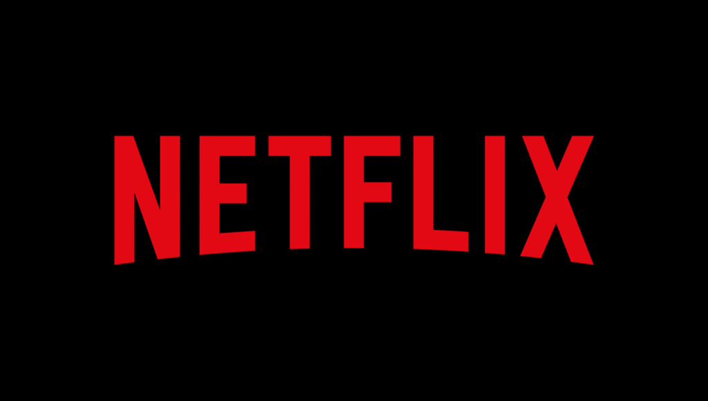 Red and black in netflix logo