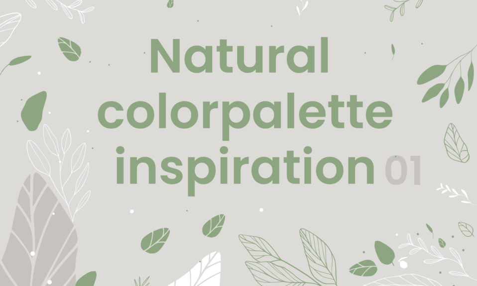 natural color palette inspiration by dopely colors