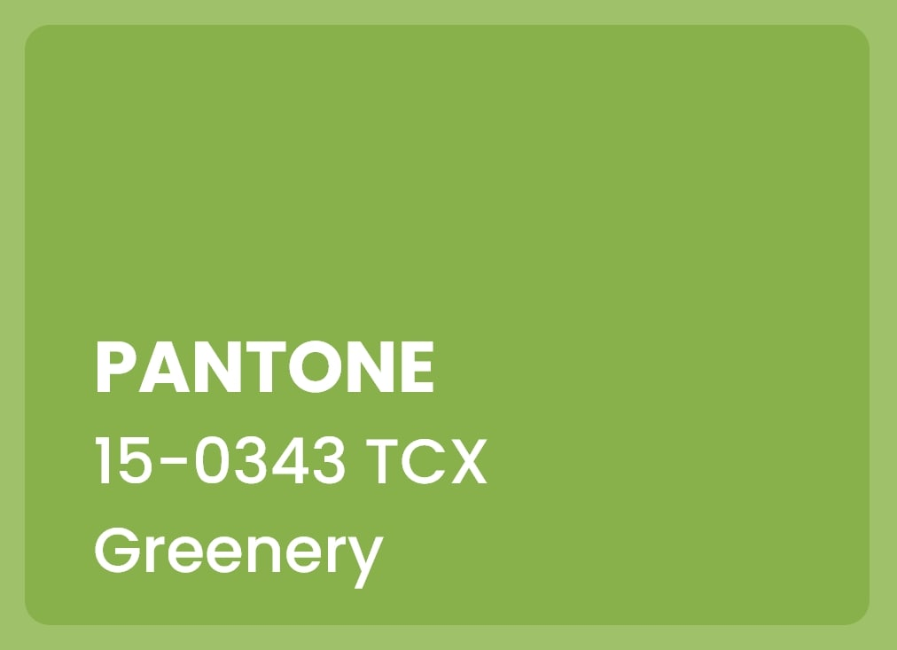 the color of the year 2017- pantone