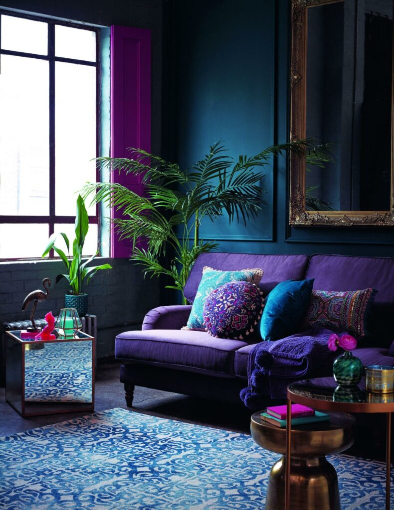 the color of the year 2018 interior design