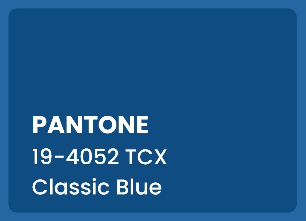 the color of the year 2020- pantone