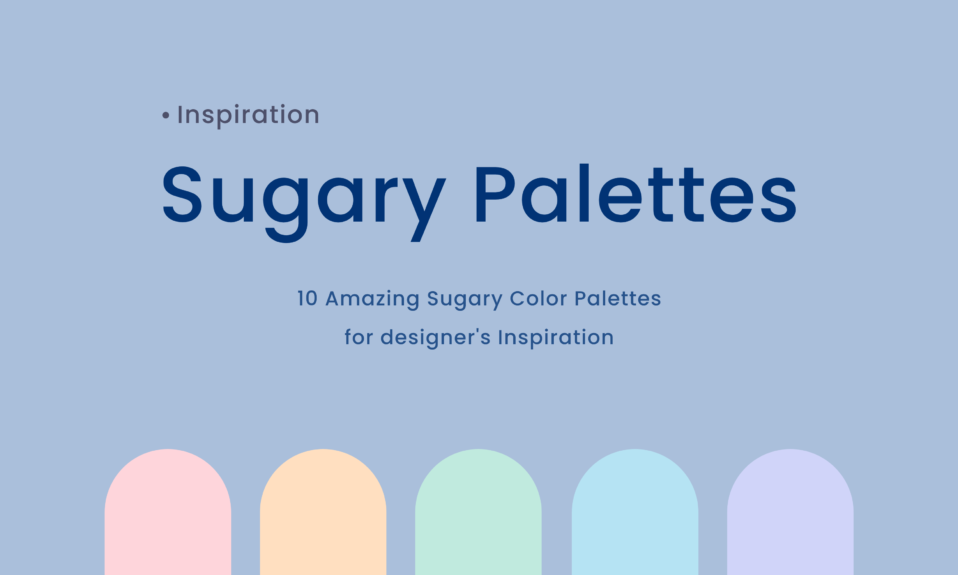 Sugary Color Palettes