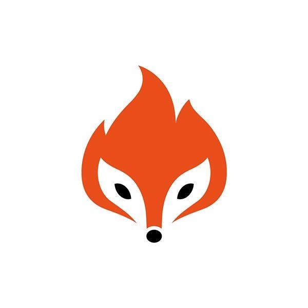 orange color for logo