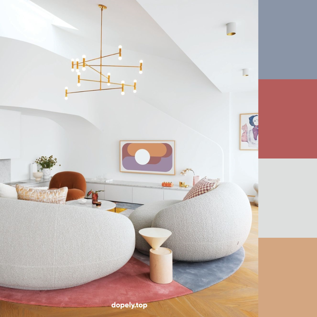 pastel colors in home