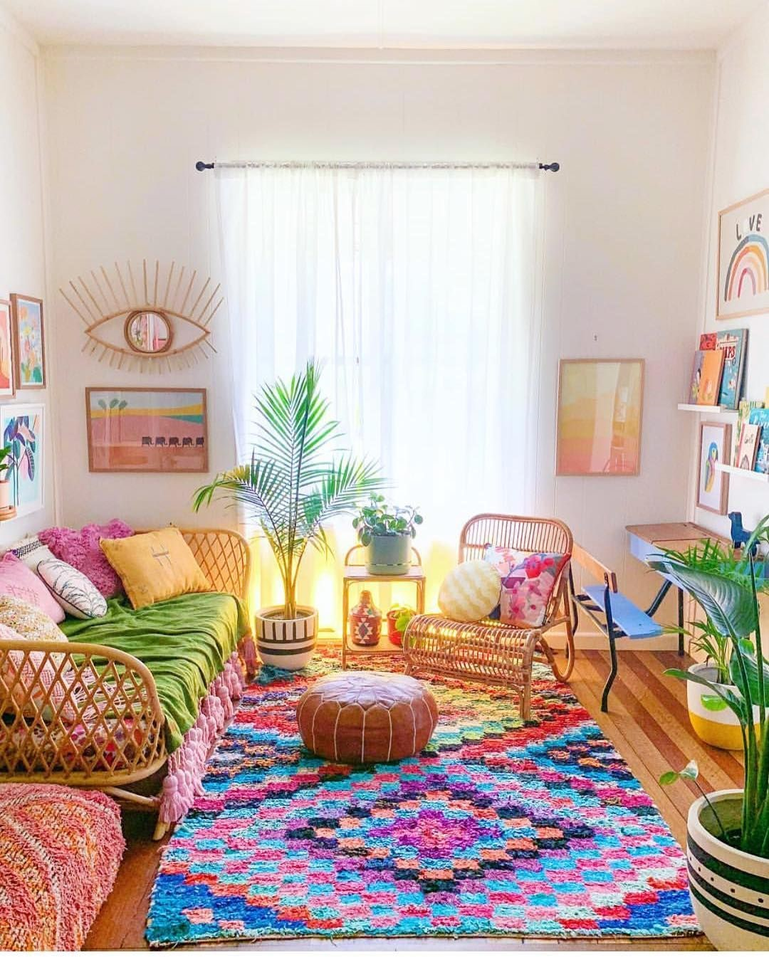 colors matter in boho style