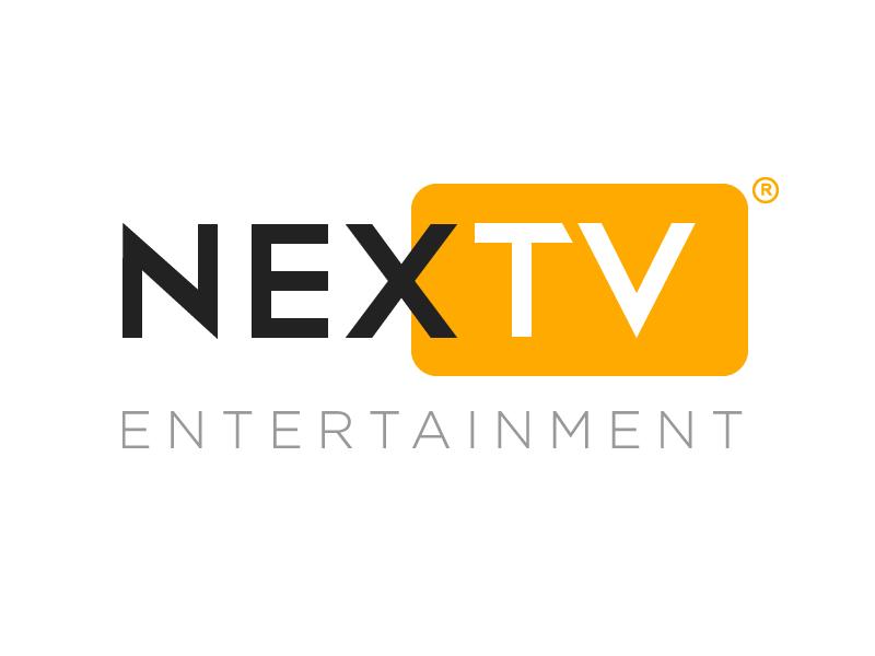 Orange and black in Nextv logo