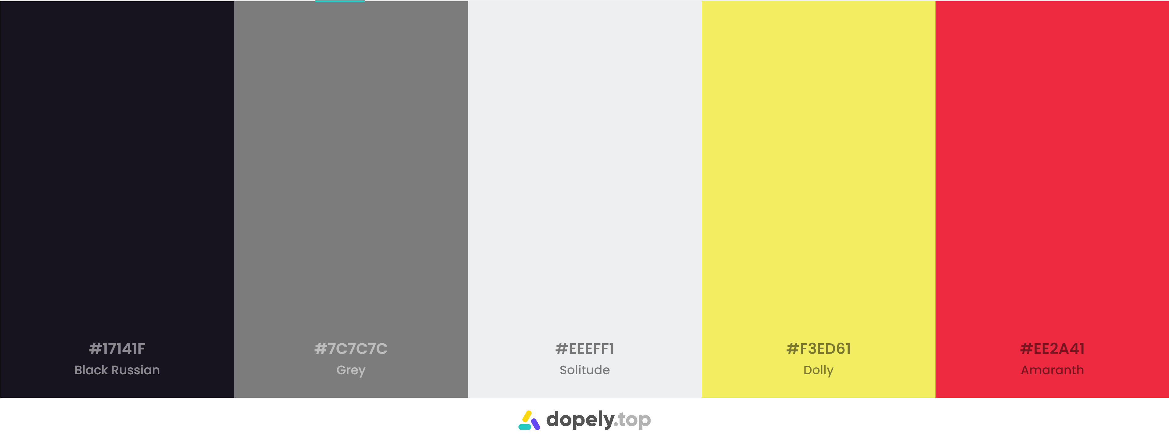Black yellow red Color Palette Inspirations with Names & hex Codes
