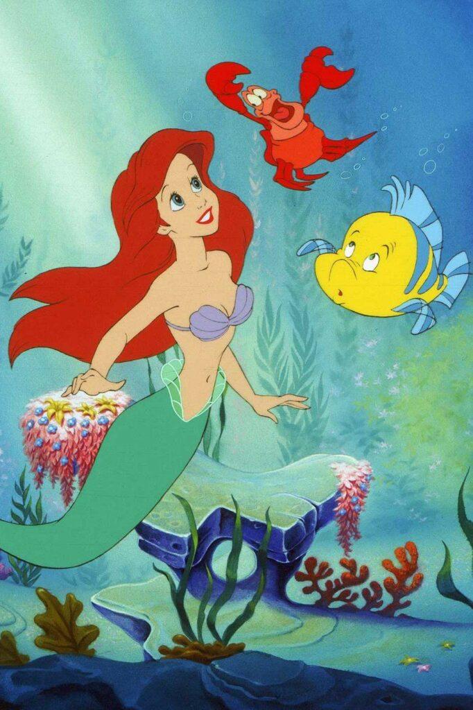 the little mermaid animation