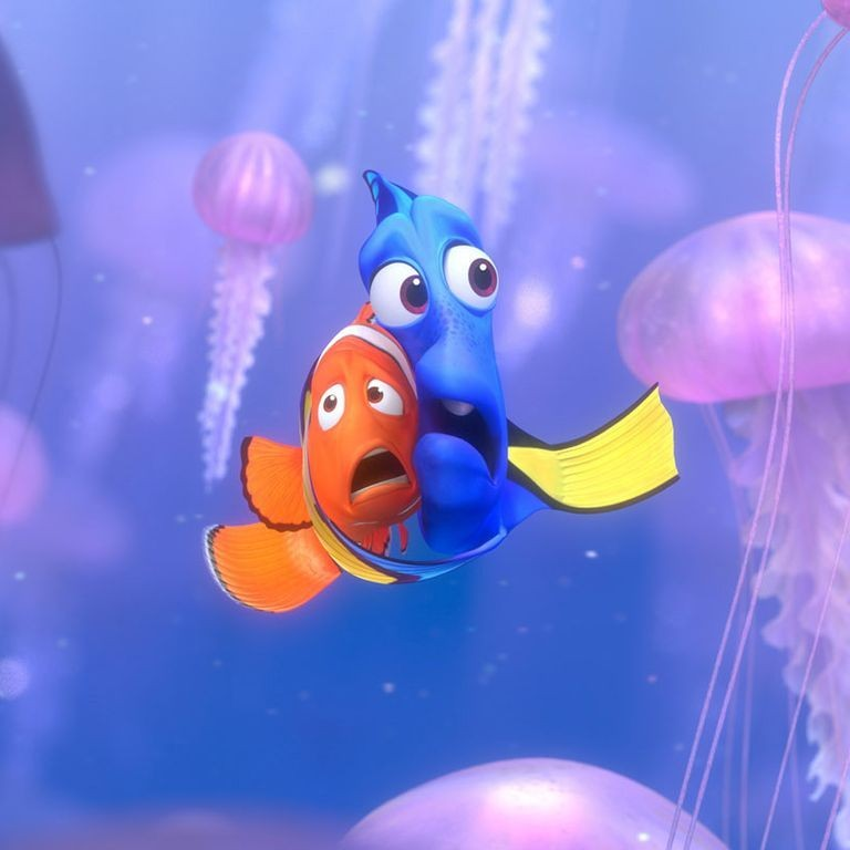 Dora and Nemo's father in animation