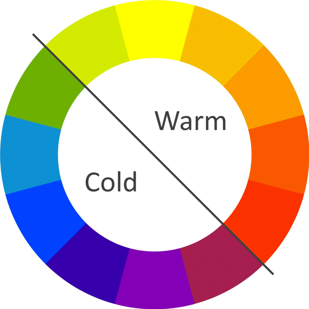 warm and cold colors