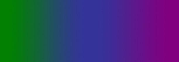 green to purple palette