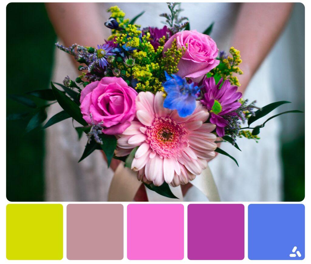 rainbow palette inspiration