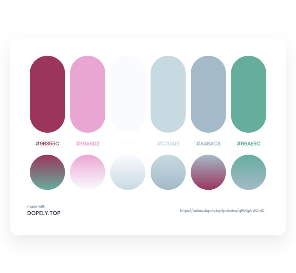 color palette inspiration 1