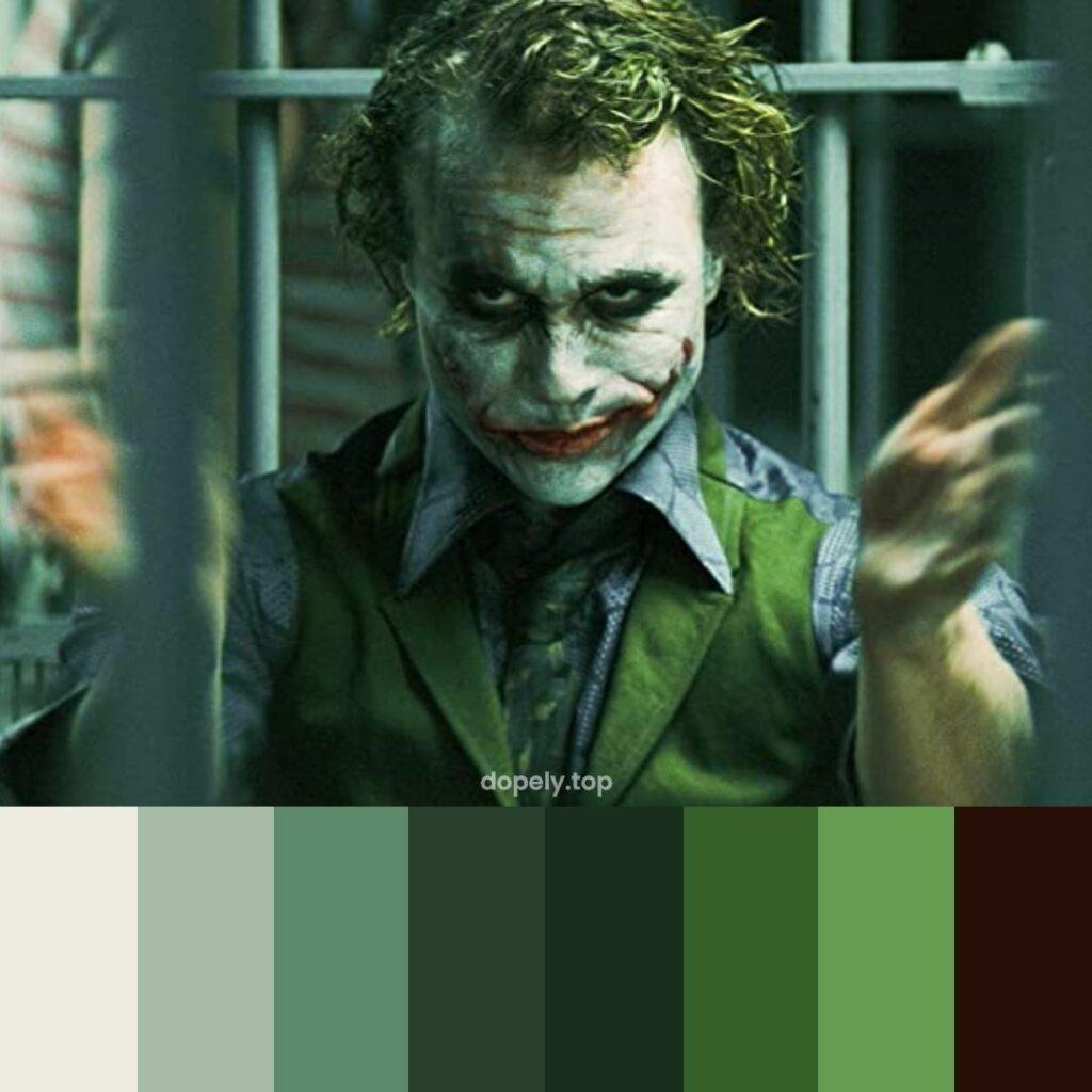 color palette of movie2