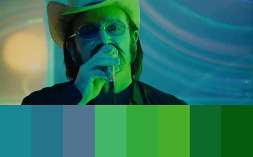 color palette of movie1