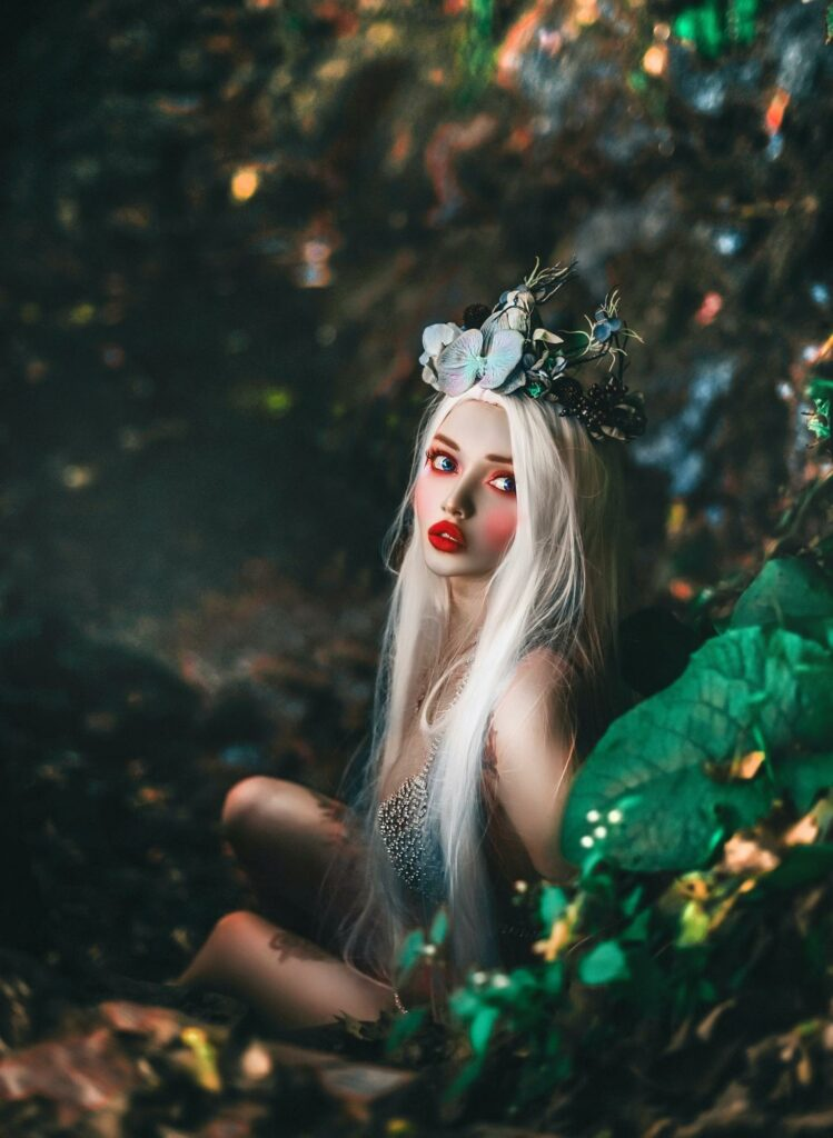 a fairy tale photography  types of a girl