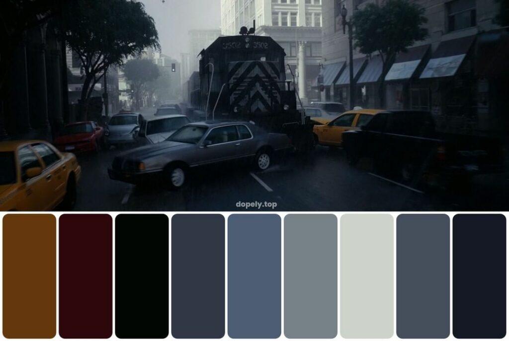 color palette of a movie