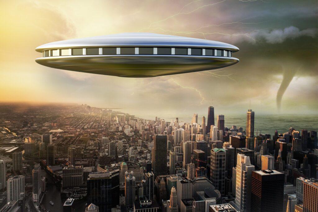 a spaceship