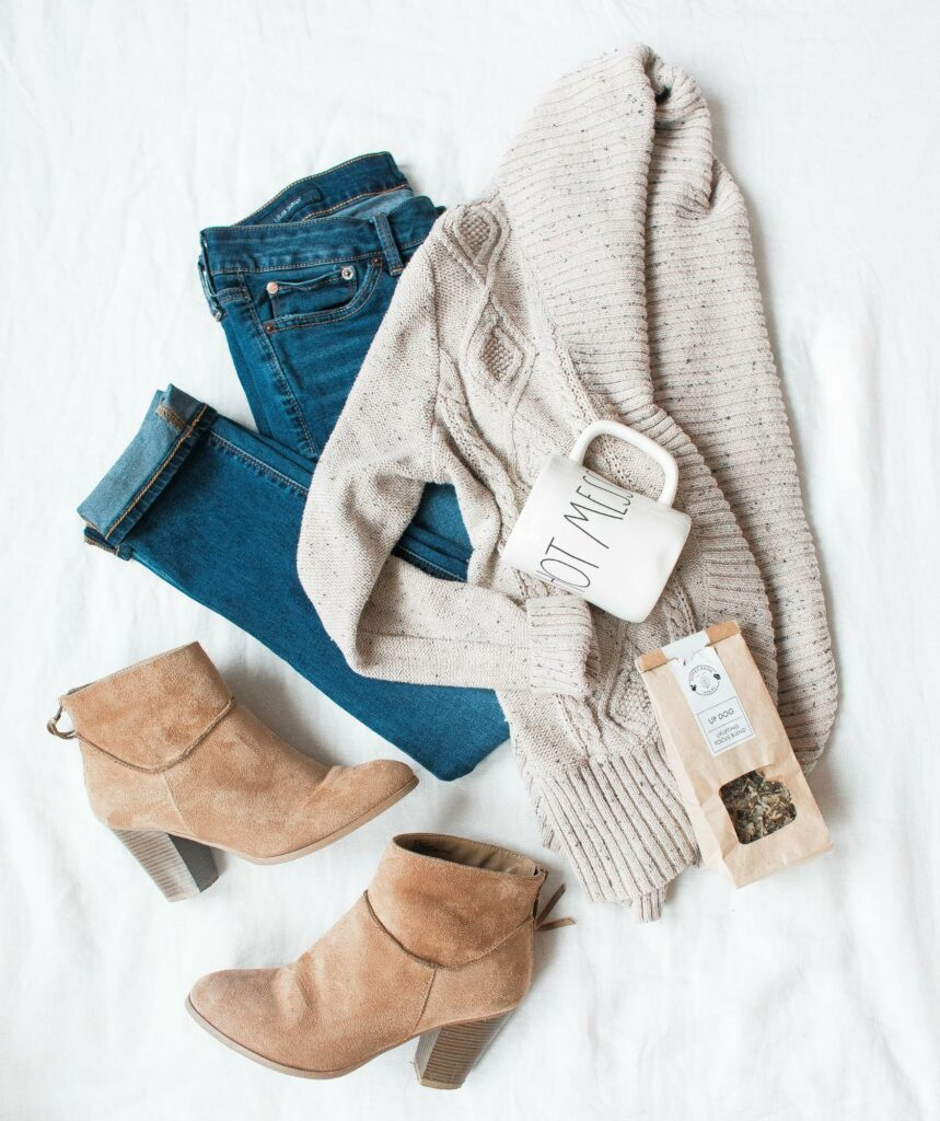 women's outfit for autumn