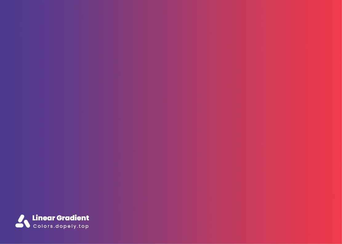 Linearcolor gradients of blue and red