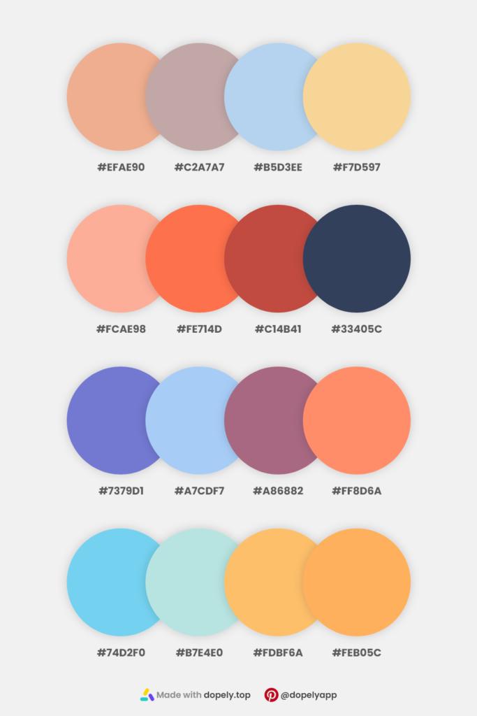 natural color palettes