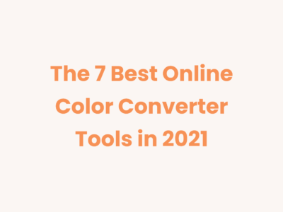 Best Online Color Converter Tools