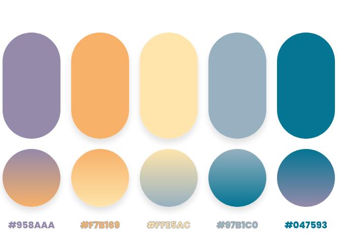 beige color palette