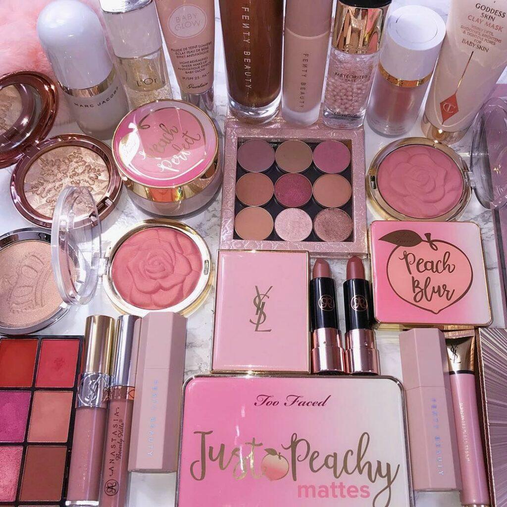 photo of makeup cosmetics