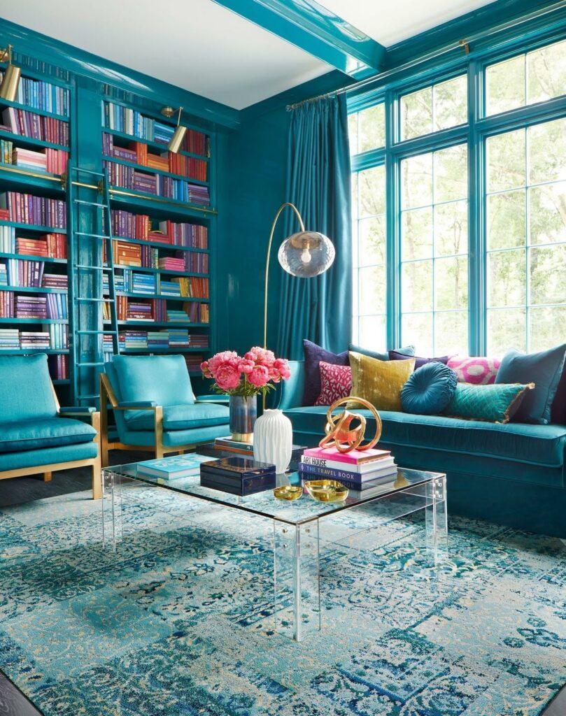 turquoise decoration