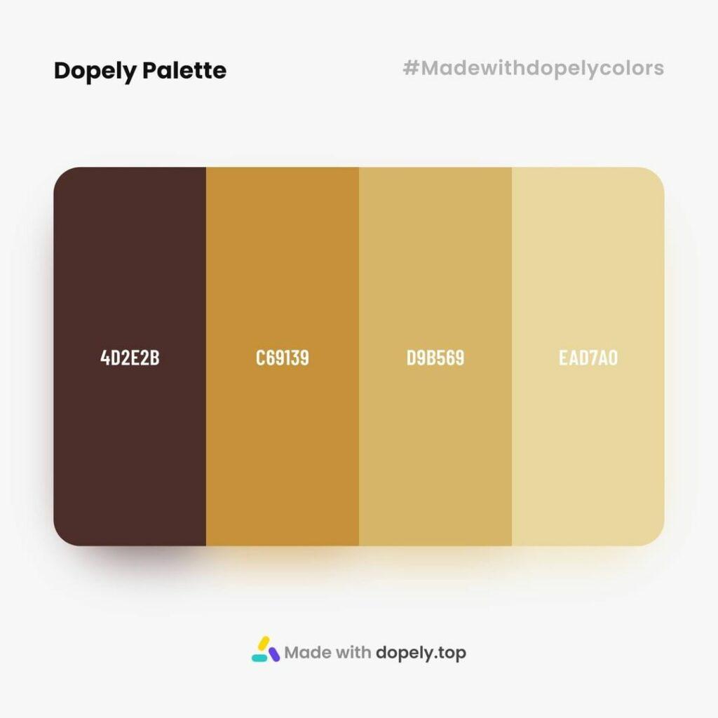 Coffee colors idea