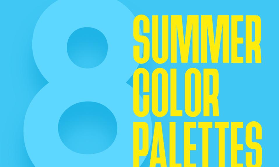 8 Summer Color Palettes