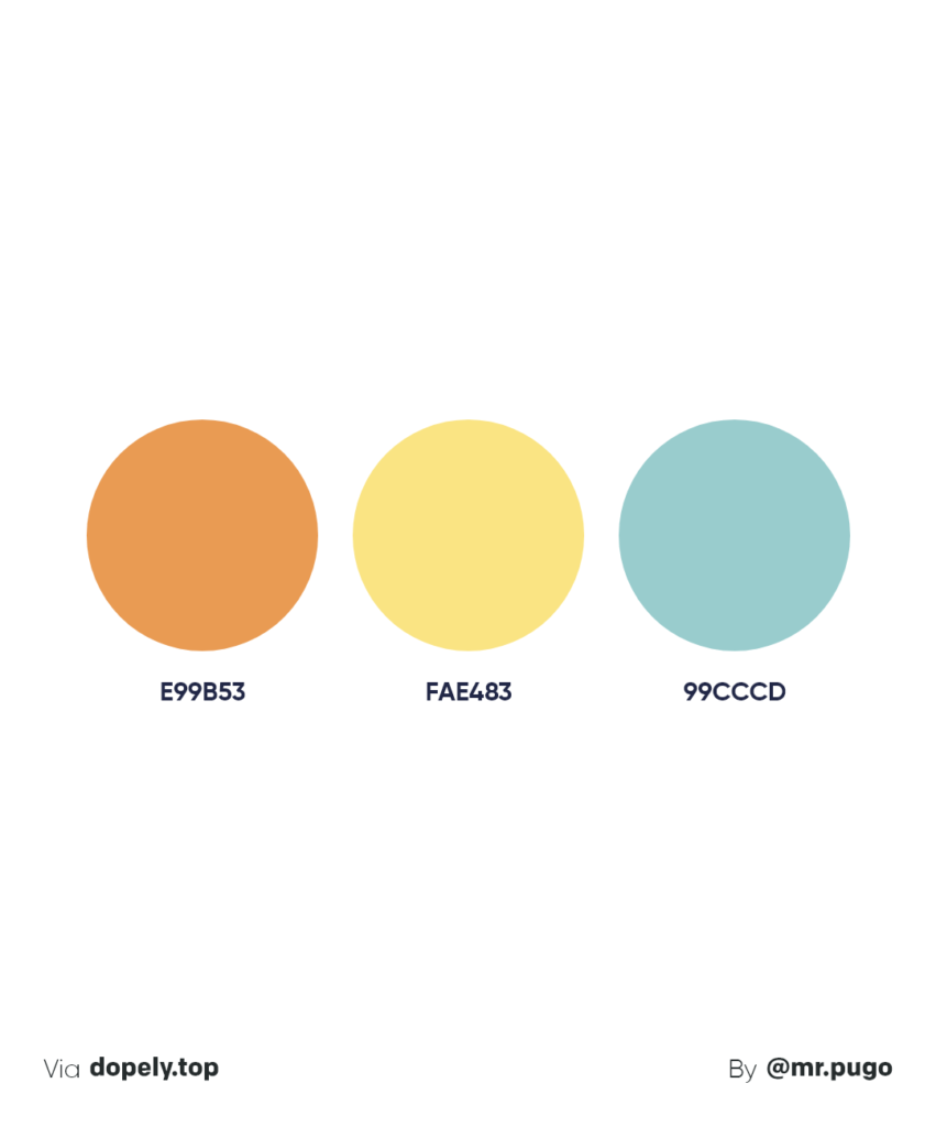 fresh summer color palette