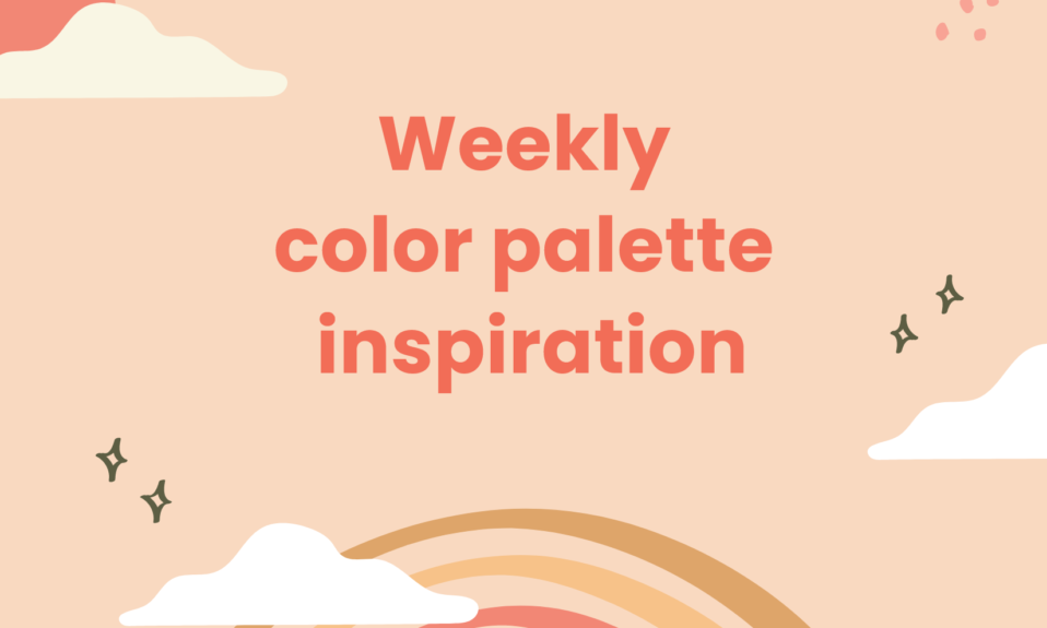 weekly color palette inspiration by dopely colors