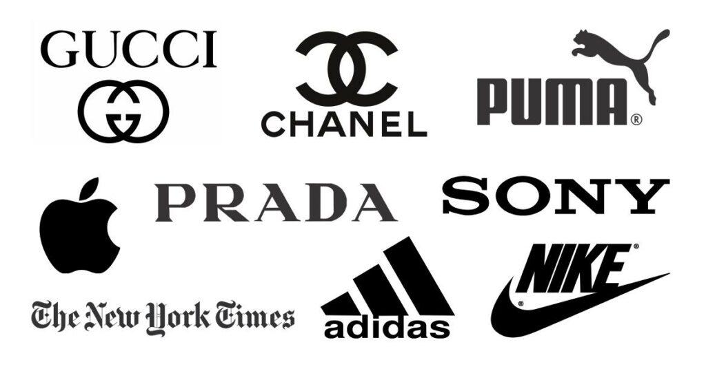 black logos