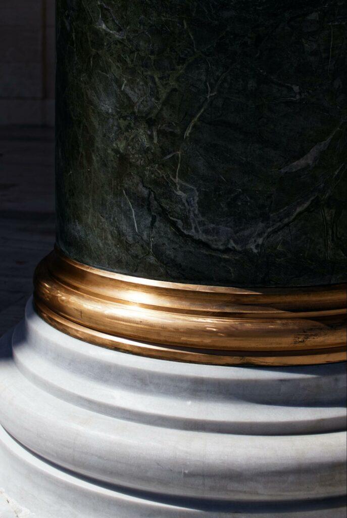 neutral stone column