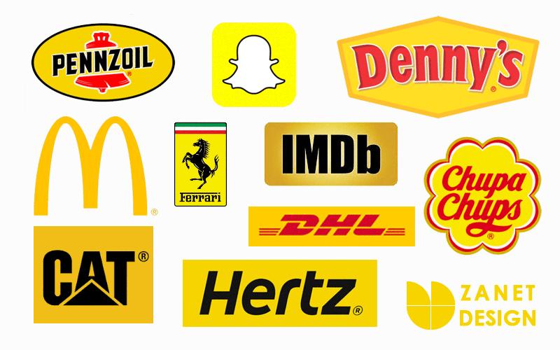 yellow logos