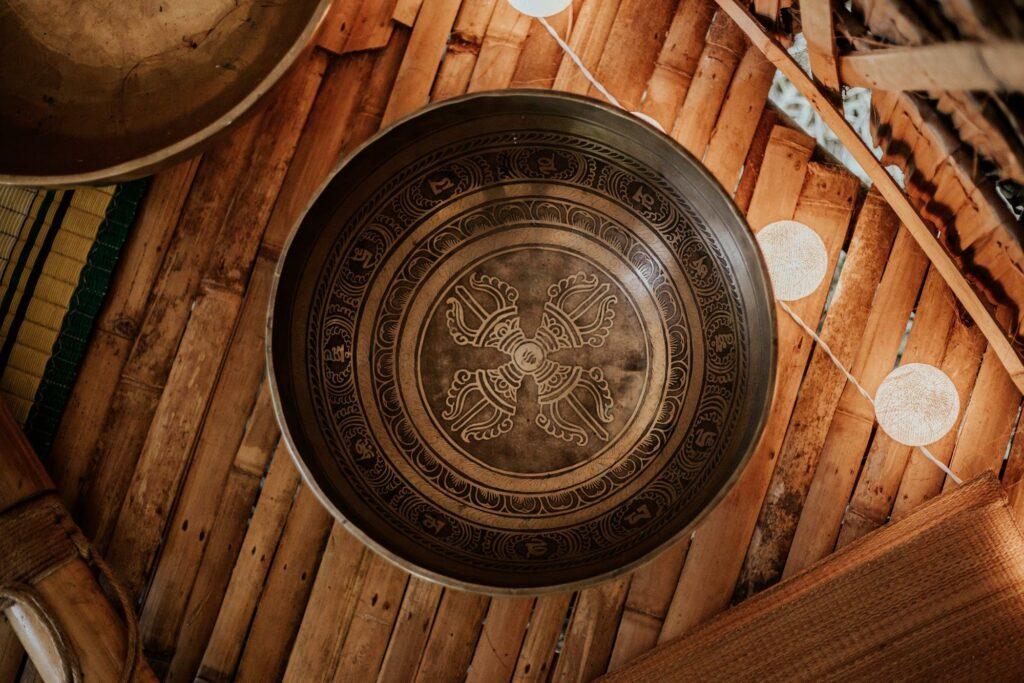 mandala in a bowl