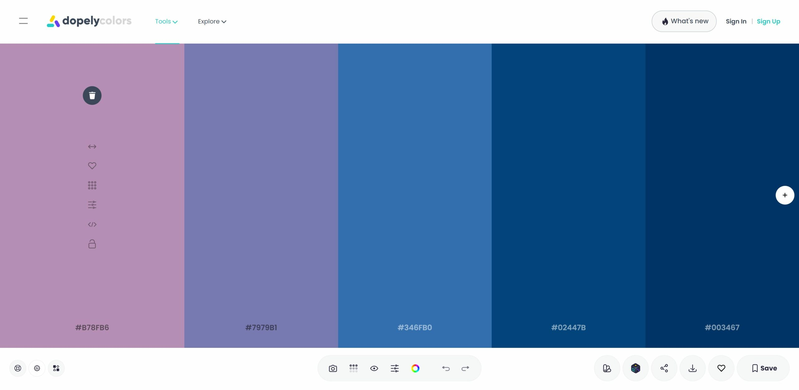 Dopely Free Color Palette Generator Tool, Best Online Color Palette Generator Tools in 2021