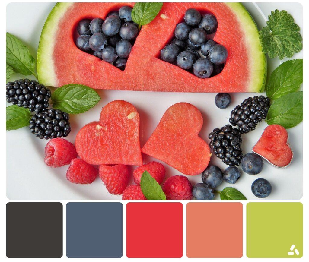 summer fruits