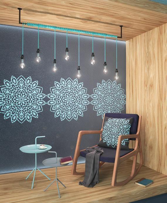 stencil technique for wall