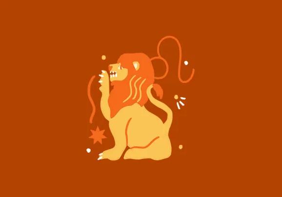 Leo zodiac color