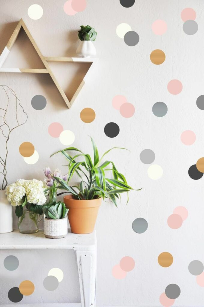 dotted wall design