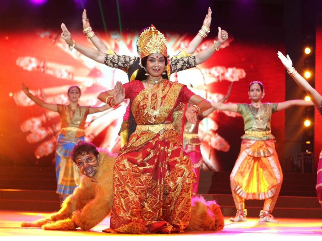 Navratri Color Festival