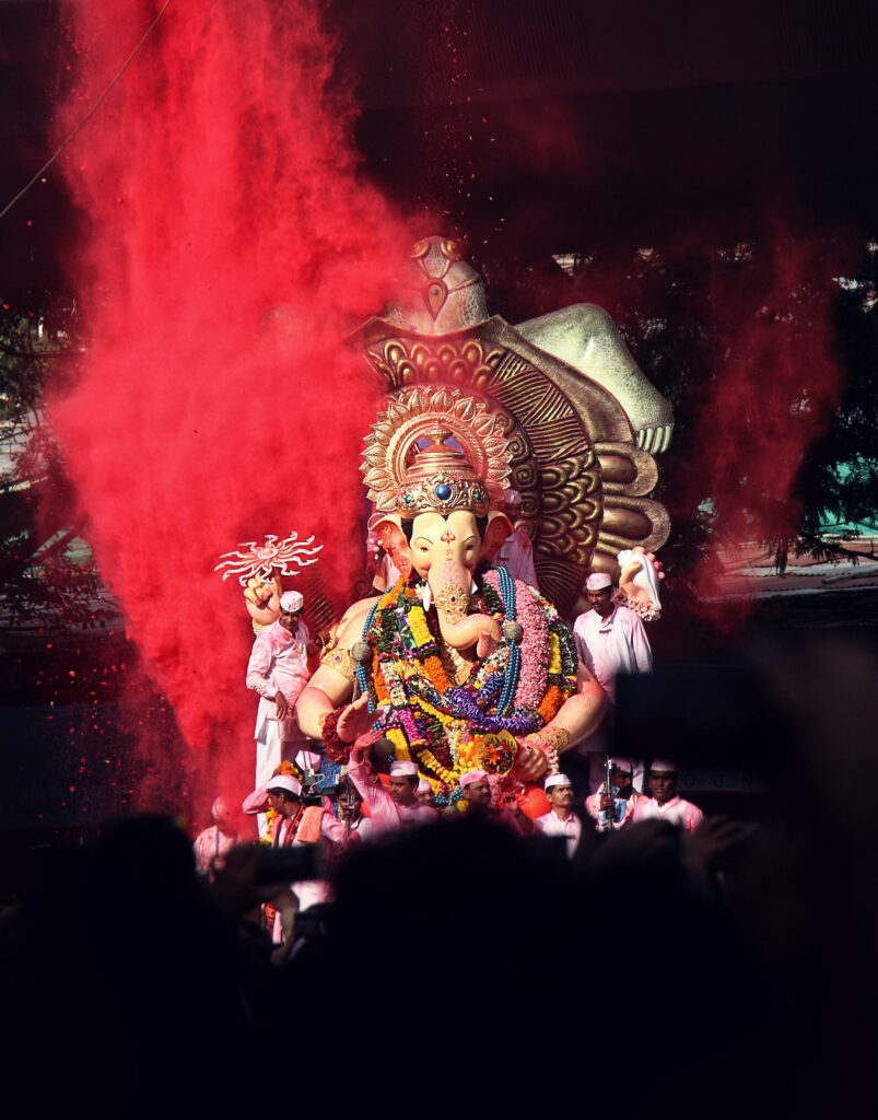Ganesh Chaturthi Color Festival