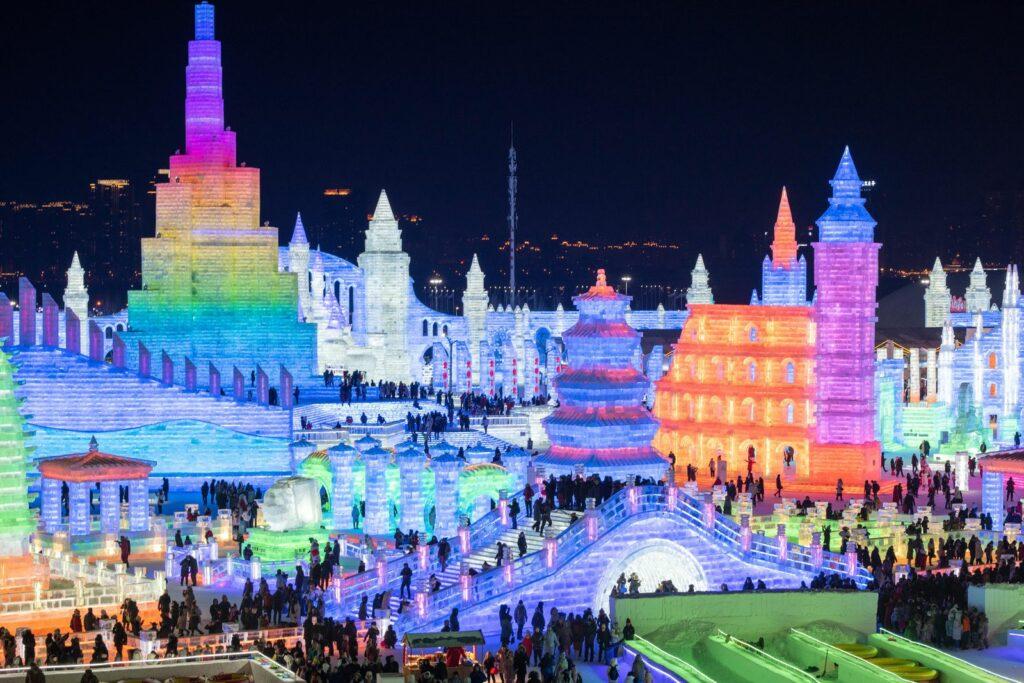 Harbin International Ice Color Festival