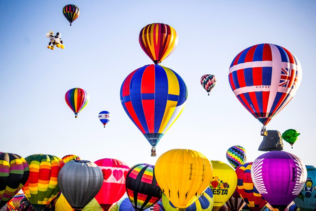 Albuquerque International Balloon Color Festival